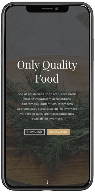 Only Quality Food