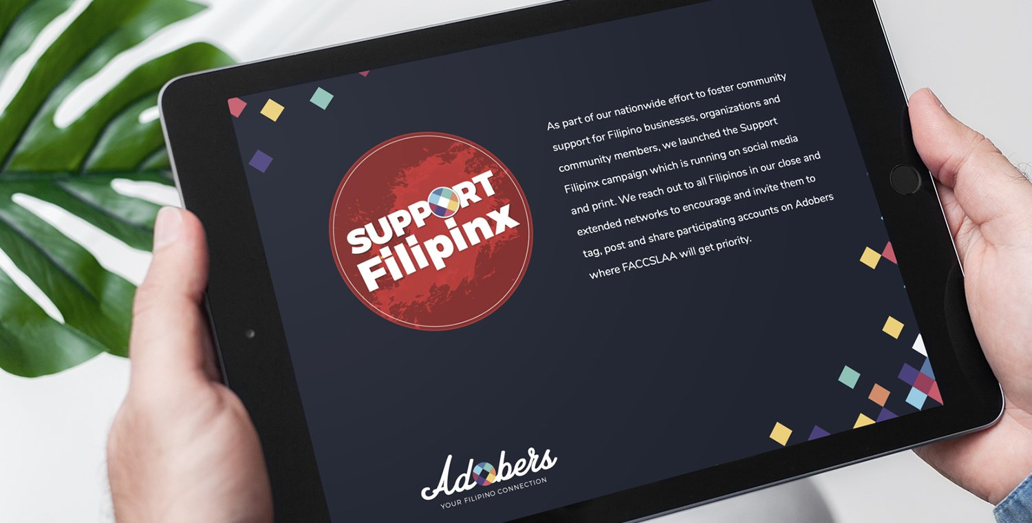 Adobers | Your Filipino Connection - Support Filipinx Campaign