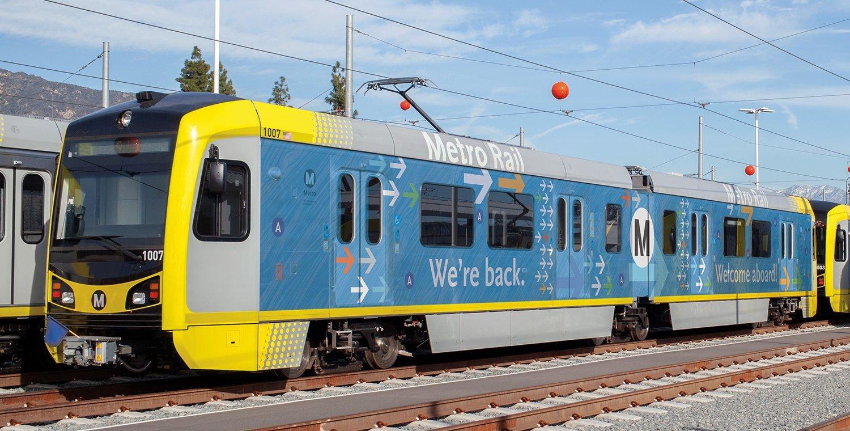Metro A Line Train Wrap