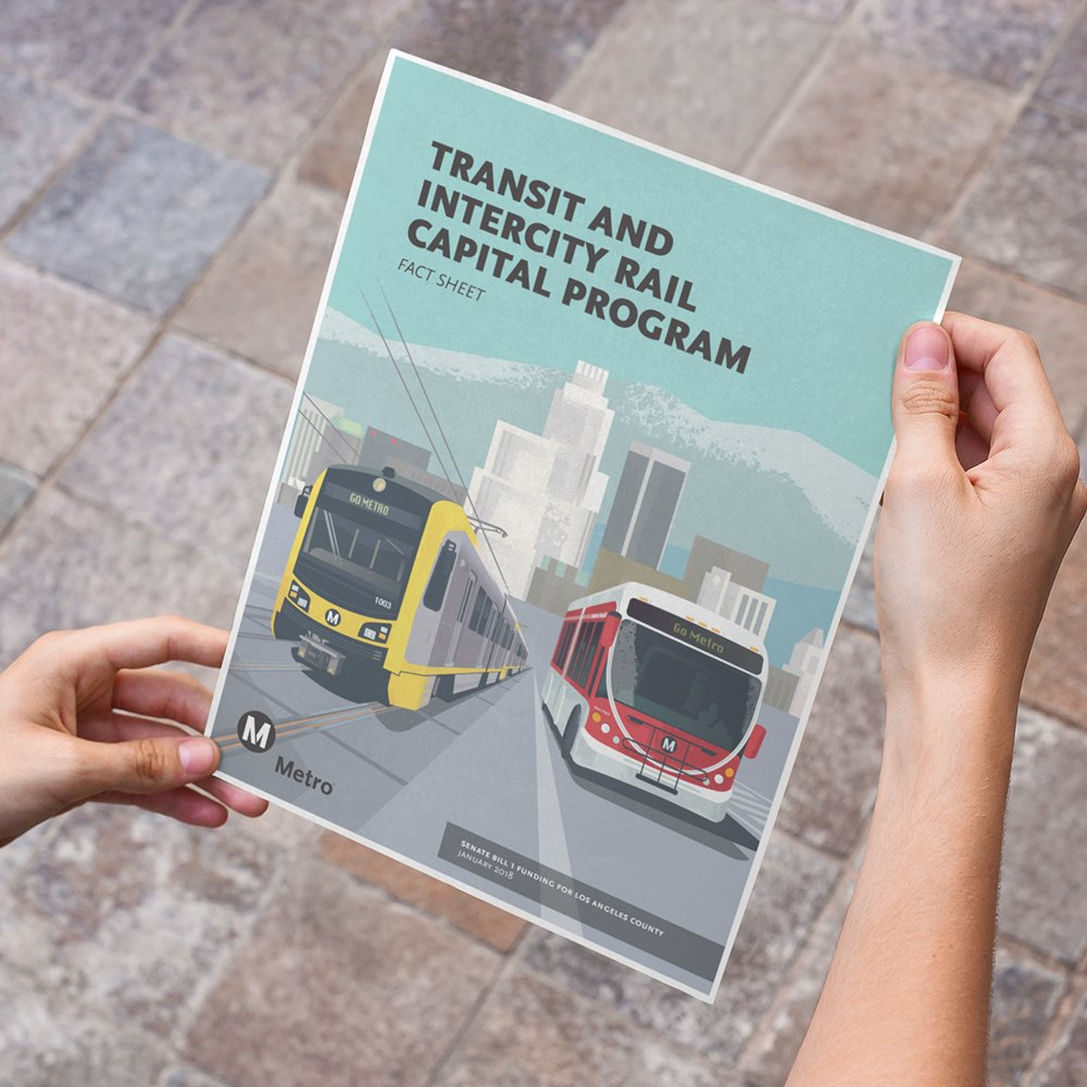 Transit and Intercity Rail Capital Program Flyer Front