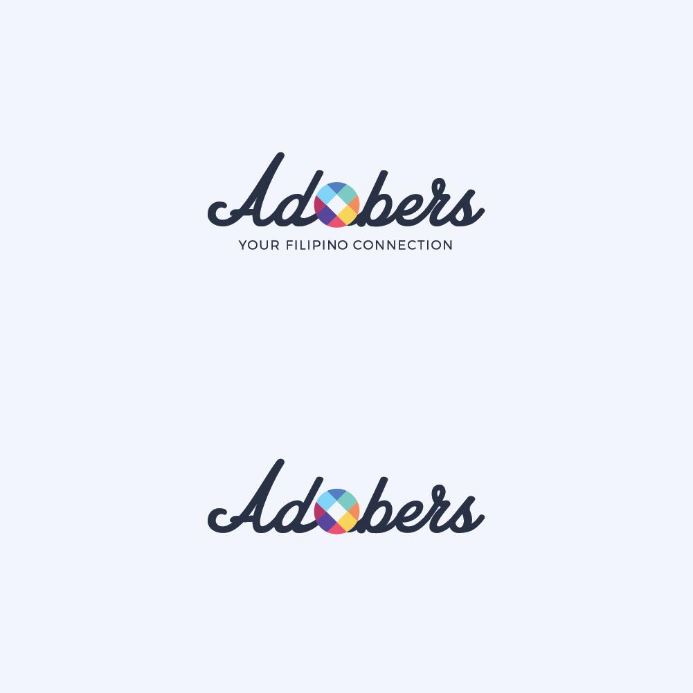 Adobers Logo on White